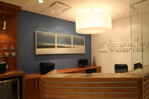 Fraser Valley endodontics waiting room